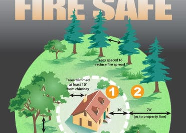Fire Safety – 100 Ft. of Defensible Space