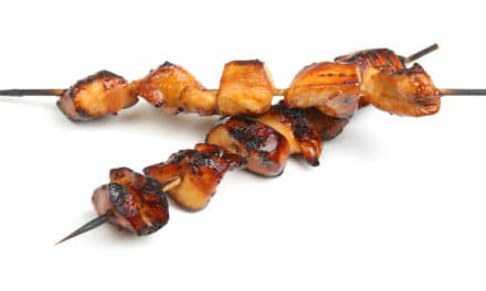 Tasty Teriyaki Beef or Chicken Sticks