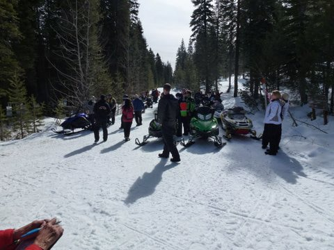 Lake Almanor Snowmobile Club – Poker Run 2018
