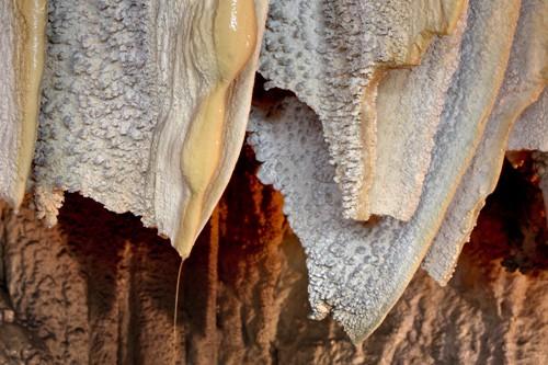 Shasta Caverns Flowstone