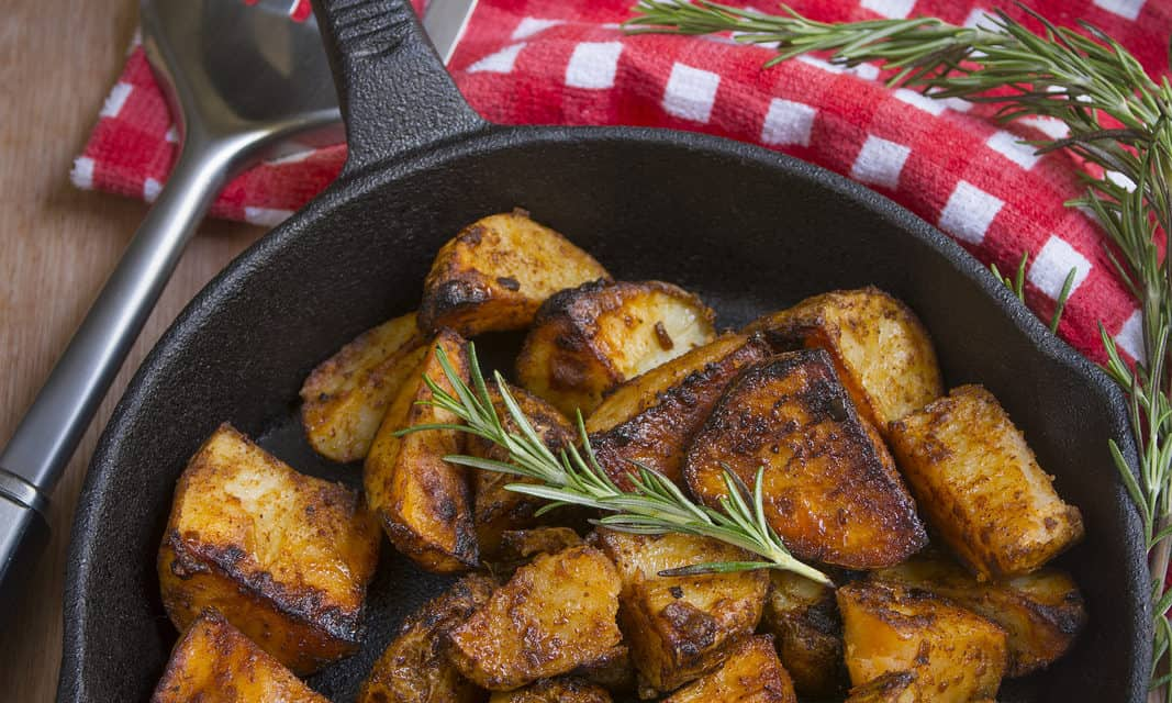 Fried Red Potatoes – Spring Breakfast Buffet