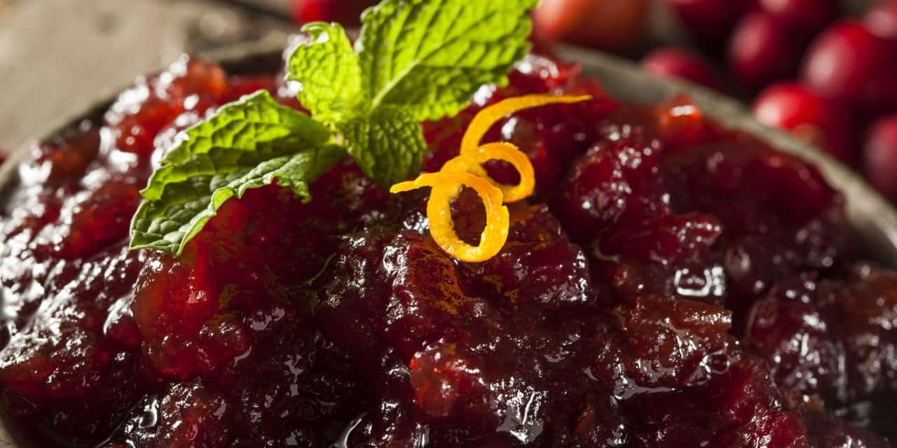 Scrumptious Cranberry Sauce