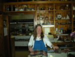 Sharon Roberts at St. Bernard Lodge