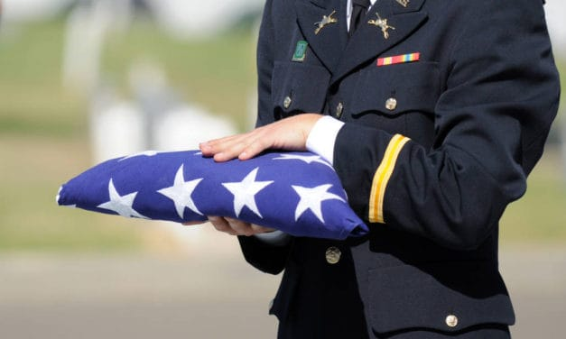 Folding the U.S. Flag