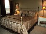 Big brass bed