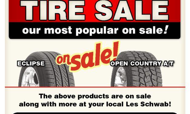 Les Schwab Tire 530-257-8883 Susanville Quincy Portola Alturas