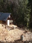 The original cabin built in the 1800s