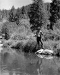 Don fishing in Seneca