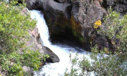 Deer Creek (Ishi) Falls   by Mary Beth Laraway Conlee  photos by Laraway Conlee Creations