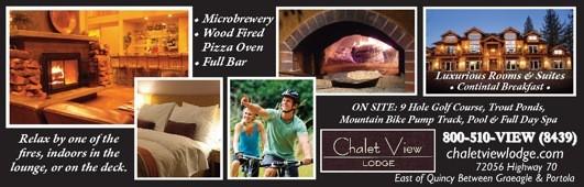 Chalet View Lodge 800-510-8439 Lodging Plumas County WebDirecting.Biz