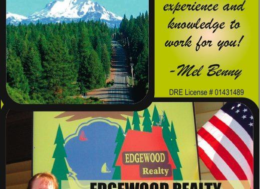 Edgewood Realty Mel Benny, Real Estate Agent Susanville Ca 530-257-6994 WebDirecting.Biz