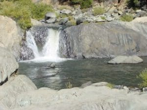 Indian Falls, Plumas county