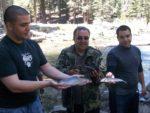 Jason, Mike and Sean Shabar at Deer Creek
