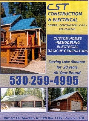 CST Construction Chester Ca 530-259-4995 Contractors Plumas County WebDirecting.Biz
