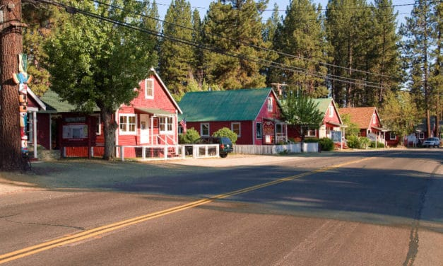 The Town Painted Red – Graeagle, CA