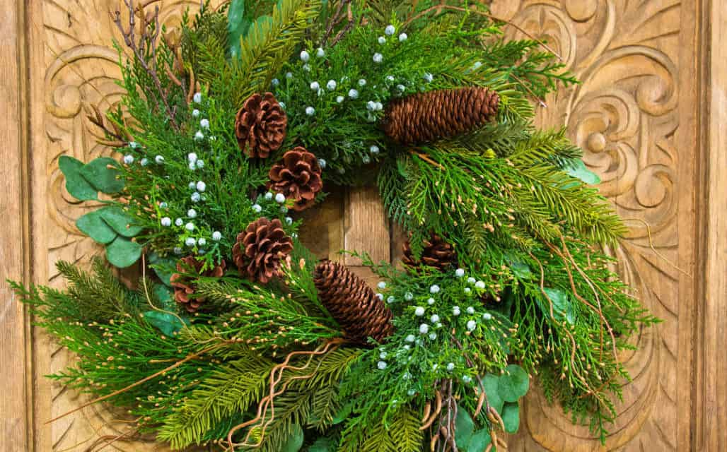 MAKE FRESH GARLAND