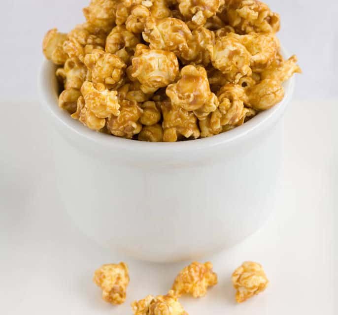 Sweet and Salty Candied Popcorn