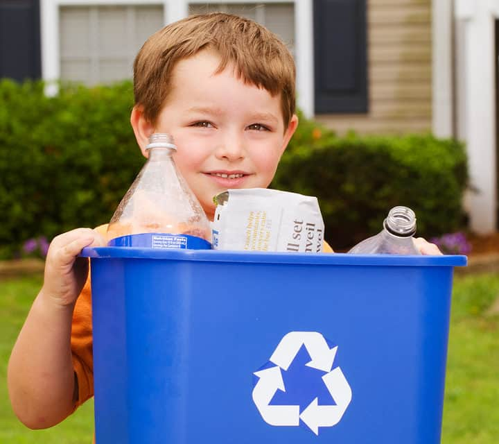 Recycle Changing The World One Trash Can At A Time