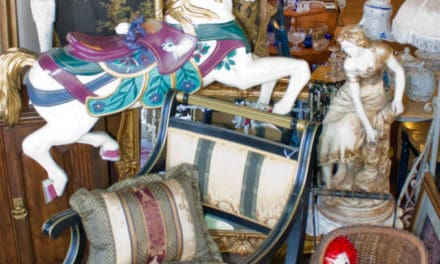 Hand Carved Carousel Horse Invokes Memories