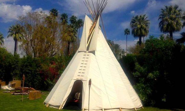 2 Feathers Tipi Mountain Valley Living Testimonial