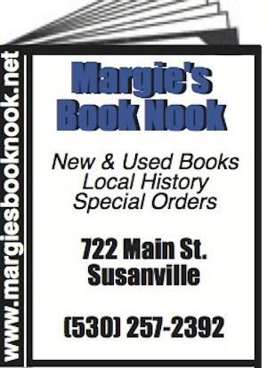 Margie's Book Nook Susanville Ca 530-257-2392 Bookstore WebDirecting.Biz