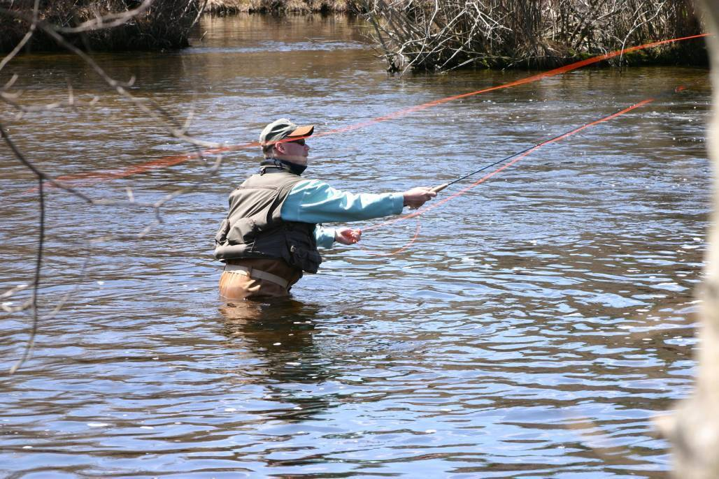 Fly fishing casting basics courtesy of for Fly fishing casting techniques