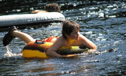 Tubin' The Waterways In Chico
