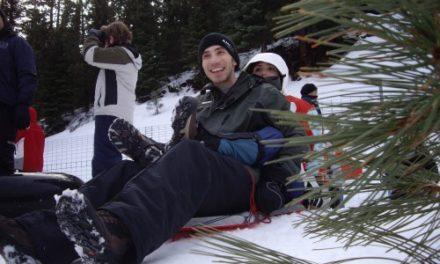 Sledding At Eskimo Hill