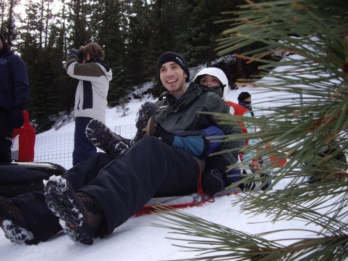 Sledding At Eskimo Hill