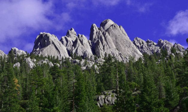 Hiking the Pacific Crest Trail in the Castle Crags Wilderness