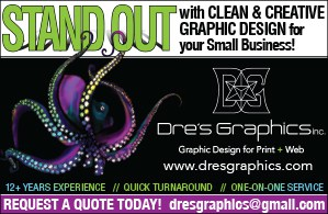 Dre's Graphics – Graphic Design, 775-622-6492, Logos, Brochures, & More Reno, NV