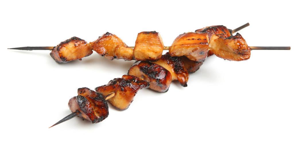 Tasty Teriyaki Beef or Chicken Sticks