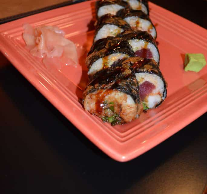 Sushi Now At Red Onion Bar & Grill Lake Almanor +1530.258.1800