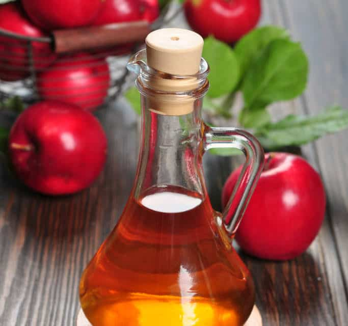 Homemade Apple Cider Vinegar Vegetable Wash