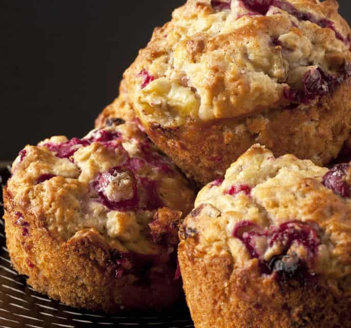Cranberry Walnut Muffins