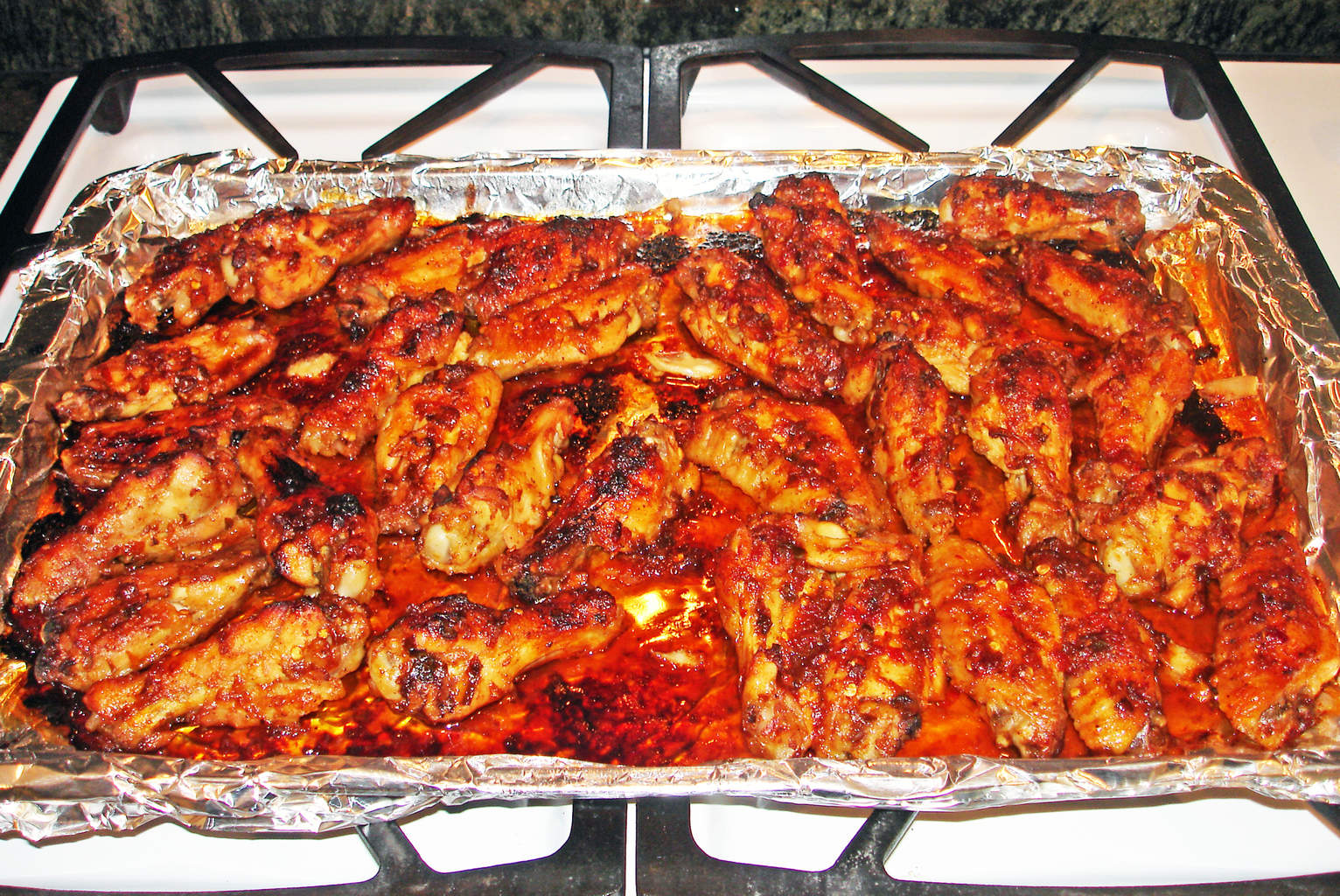 Caramelized Baked Chicken Party Wings Recipe Mountain Valley Living