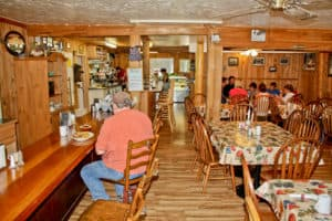 Carols Cafe Dining Room