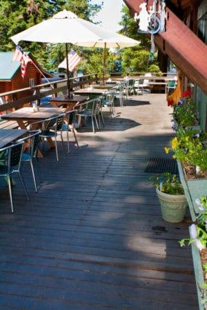 Carols Cafe deck