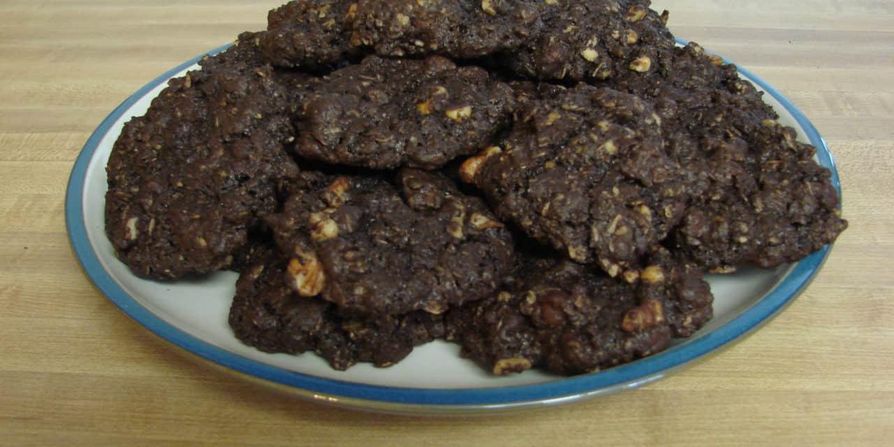 Chocolate Lover's Oatmeal Cookies