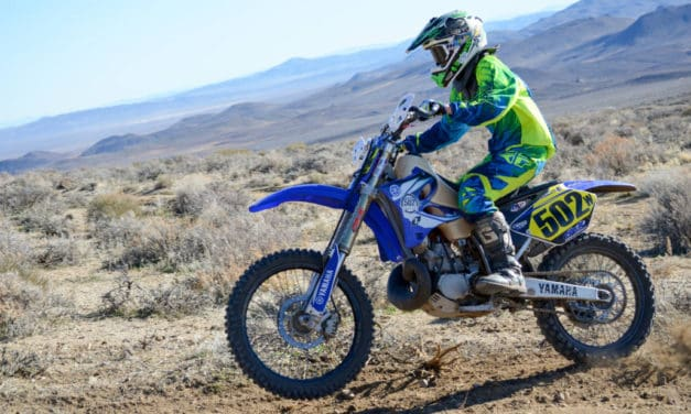 Hitting the dirt with Mikey Majors