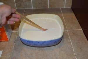 Cream Cheese step 1