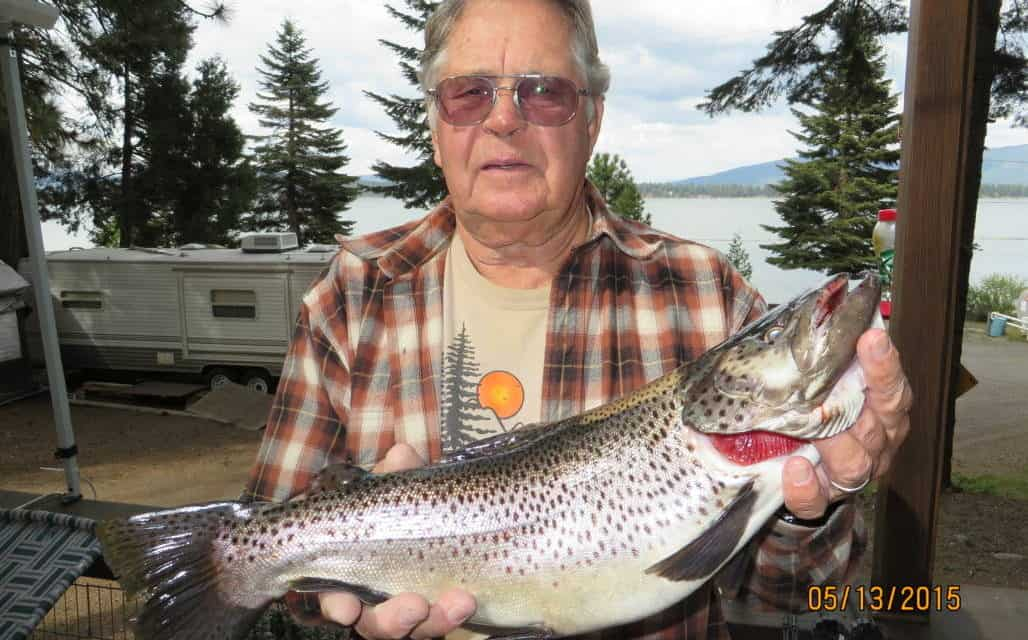 Fishing with Bob- Enjoying Beautiful Lake Almanor