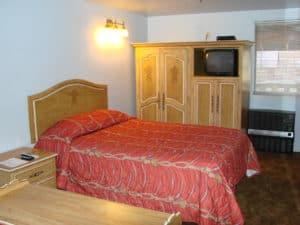Golden West hotel room
