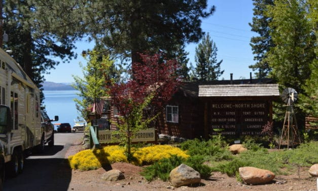NORTH SHORE CAMPGROUND – LAKE ALMANOR, Ca