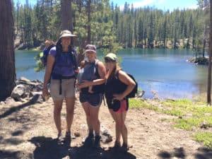 Moms at the lake