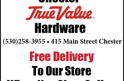 Chester True Value – Lake Almanor +1-530-258-3955 – 417 Main St. Chester, CA, webdirecting.biz