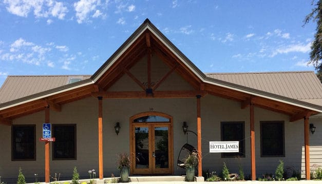 Hotel James, Wine Time & The Lost Dutchman Taproom