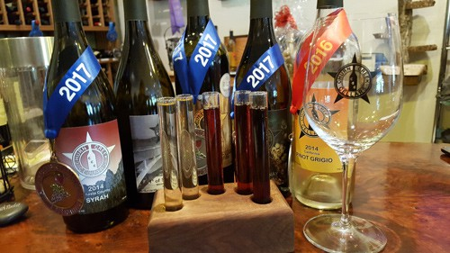 "Churn Creek Cellars – Wine from the ""bottom"" – Anderson, CA"