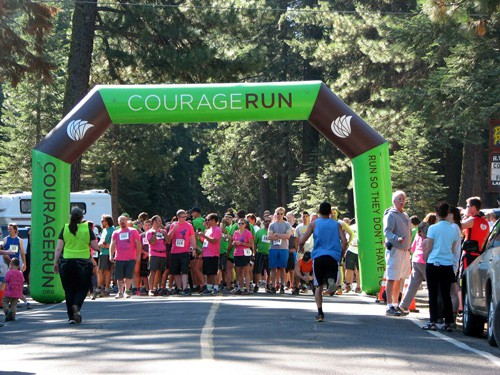 2017 Courage Run… So they don't have to (held annually)