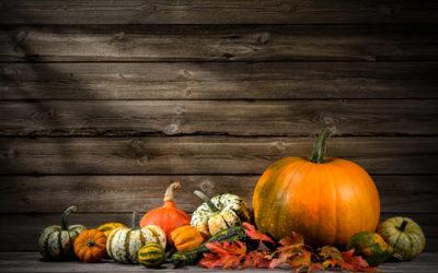 Fall Decor From Pumpkins, Squash & Gourds